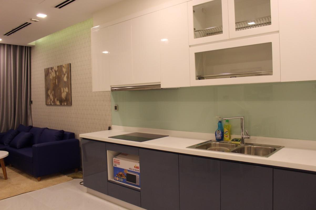 34543 Cho thuê căn hộ Vinhomes Central Park 2PN, tháp Park 1, đầy đủ nội thất, view nội khu