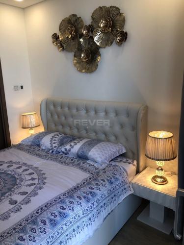 Phòng ngủ căn hộ Vinhomes Central Park, Bình Thạnh Căn hộ Vinhomes Central Park tháp Landmak 81 nội thất đầy đủ.
