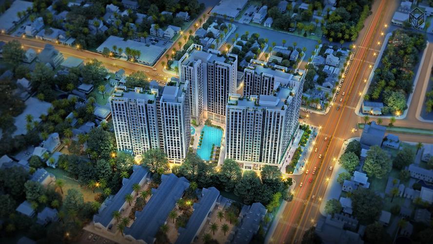 Richstar, Tân Phú Căn hộ Richstar tầng thấp, ban công hướng Đông Nam, view nội khu.