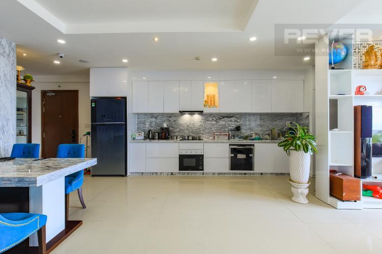 Phòng Bếp Bán căn hộ The Gold View tầng cao, 3PN, đầy đủ nội thất, view đẹp