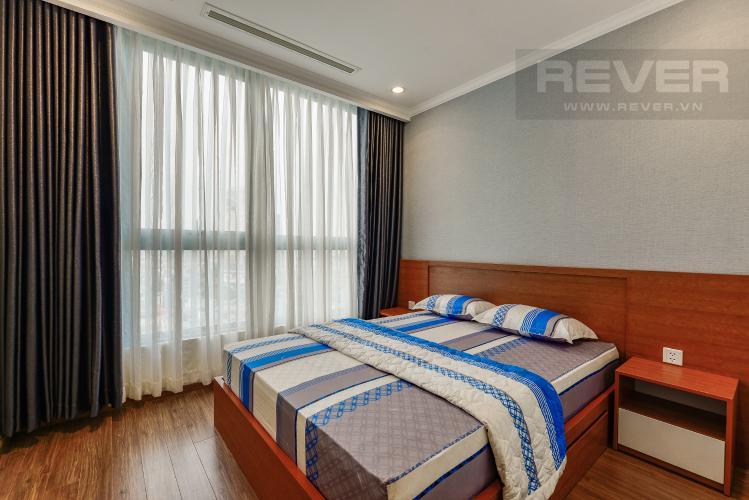 Phòng ngủ 3 Căn hộ Vinhomes Central Park 3 phòng ngủ tầng trung L4 nội thất đầy đủ