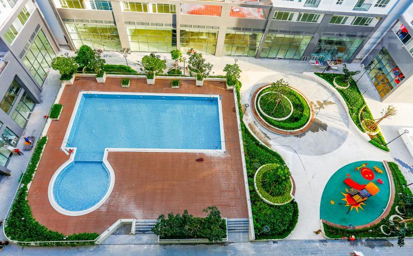 View Căn hộ Florita 2 phòng ngủ tầng thấp tháp C nhà trống
