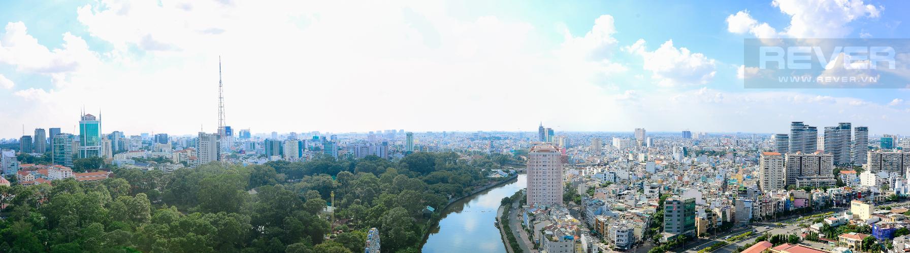 View Bán căn hộ Vinhomes Golden River 3PN, tầng trung, tháp The Luxury 6, view sông Sài Gòn