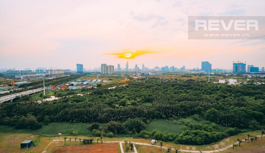 View Căn hộ New City Thủ Thiêm tầng cao, 2PN đầy đủ nội thất