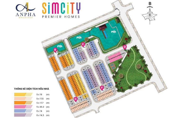 SimCity Premier Homes - Mat-bang-can-ho-SimCity-Premier-Homes