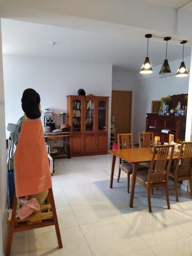Phòng bếp căn hộ Tecco Central Home, Bình Thạnh Căn hộ Tecco Central Home nội thất cơ bản, view thành phố thoáng mát.