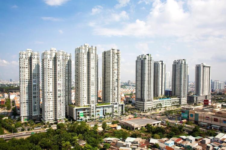 Bán căn hộ Sunrise City, diện tích 73.1m2 - 2 phòng ngủ, không có nội thất, ban công hướng Đông.