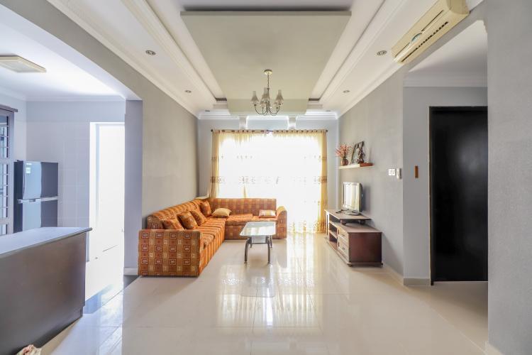Cho thuê căn hộ chung cư Phú Mỹ 2PN, diện tích 103m2, đầy đủ nội thất, view thoáng