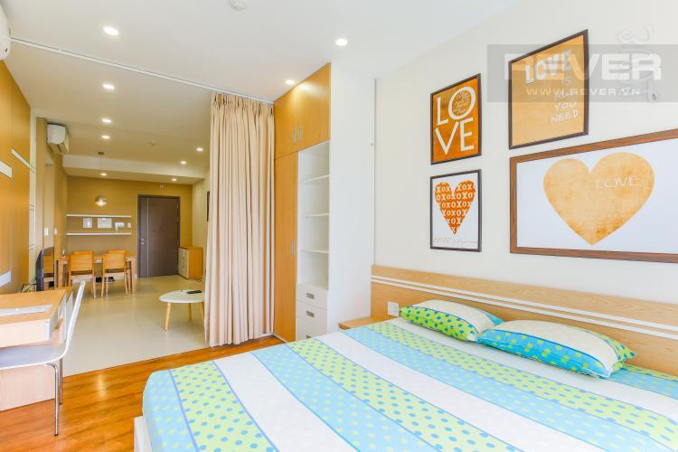 Phòng Ngủ Căn hộ Lexington Residence tầng trung tháp LB view hồ bơi mát mẻ