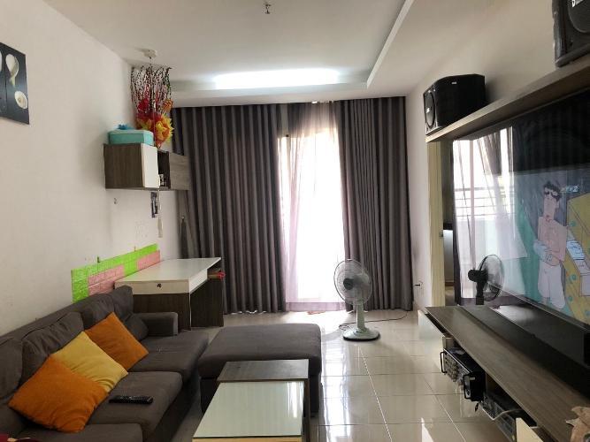 Phòng khách Thái An Apartment, Quận 12 Căn hộ Thái An Apartment hướng Đông, nội thất đầy đủ.