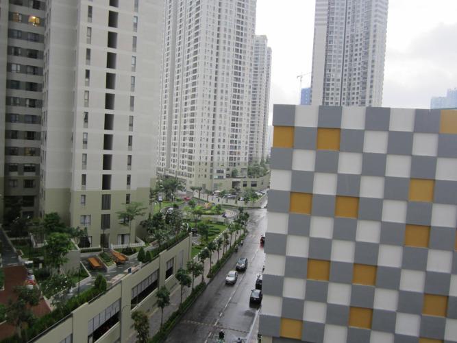 View ban công Masteri Thảo Điền Quận 2 Căn hộ Masteri Thảo Điền ban công hướng Đông Nam, view nội khu.