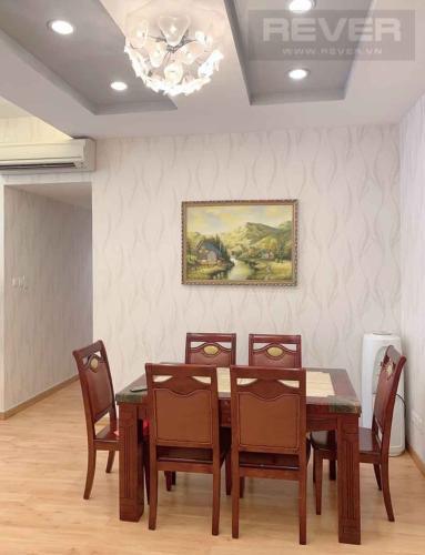 Phòng Khách Bán căn hộ Saigon Pearl 3 phòng ngủ, tháp Ruby 2, đầy đủ nội thất, căn góc view sông