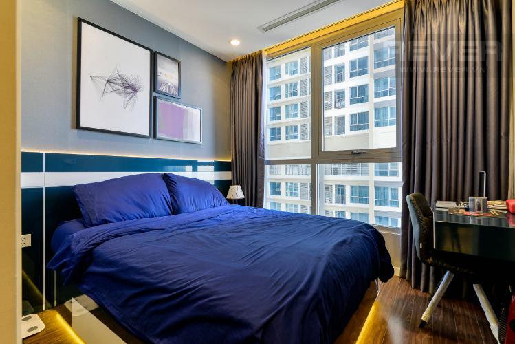 Phòng Ngủ 2 Căn hộ Vinhomes Central Park tầng cao, 2PN đầy đủ nội thất