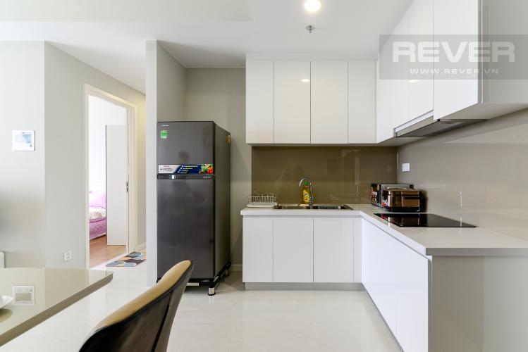 Bếp Cho thuê căn hộ Masteri An Phú 2PN, tầng cao, đầy đủ nội thất, view sông thoáng đãng