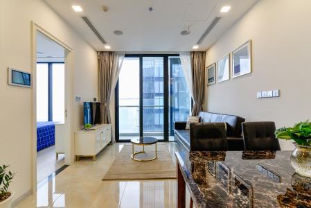 Căn hộ Vinhomes Golden River tầng cao, 2PN nội thất đầy đủ, view sông