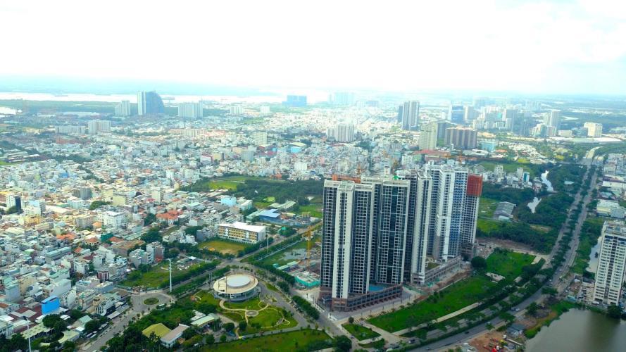 Eco Green Saigon, Quận 7 Căn hộ Eco Green Saigon tầng cao, ban công đón gió.