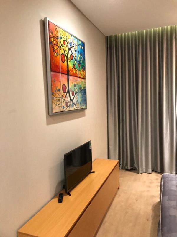 Tivi phòng ngủ Cho thuê căn hộ Diamond Island - Đảo Kim Cương 2PN, tháp Bora Bora, đầy đủ nội thất, hướng Đông