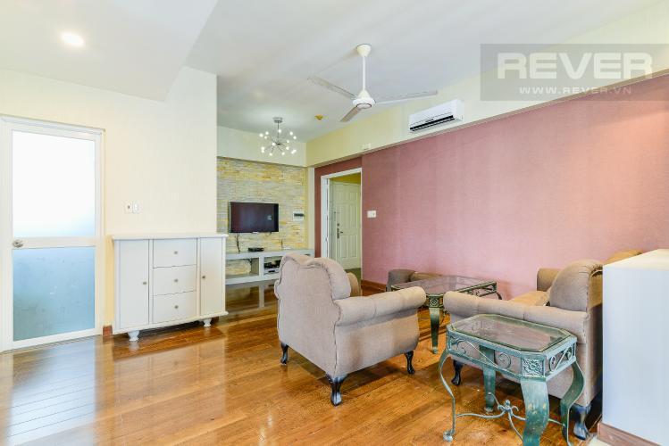 Phòng Khách Căn hộ D5 Chung cư Thế Hệ Mới 2 phòng ngủ nội thất đầy đủ