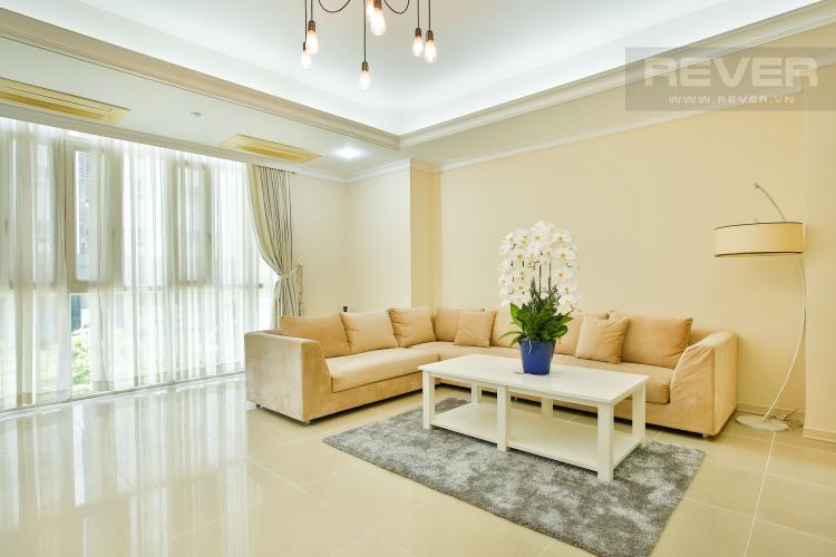 Phòng Khách Căn hộ Imperia An Phú 3 phòng ngủ tầng thấp C1 nội thất hiện đại