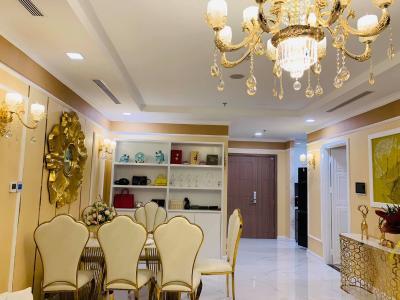 Cho thuê căn hộ Vinhomes Central Park 2PN, tháp Landmark 81, diện tích 77m2, đầy đủ nội thất