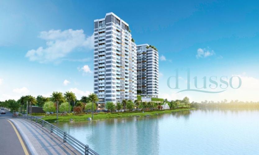 Bán căn hộ D'lusso Emerald diện tích 68.5m2, 2 phòng ngủ, ban công hướng Đông Nam, chưa bàn giao