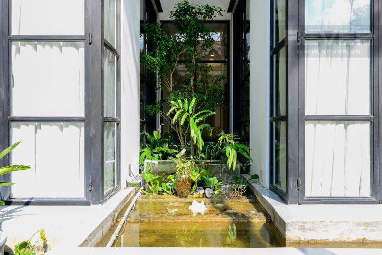 Sân Vườn Bán nhà phố 2 tầng, Đường Số 5, Villa Thảo Điền Compound Q.2, diện tích đất 143m2, đầy đủ nội thất