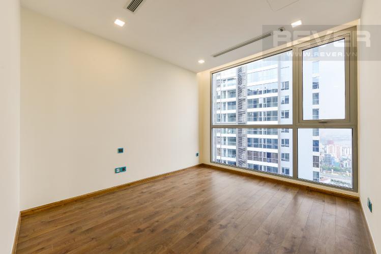 Phòng ngủ 3 Căn góc Vinhomes Central Park 4 phòng ngủ tầng cao Park 4