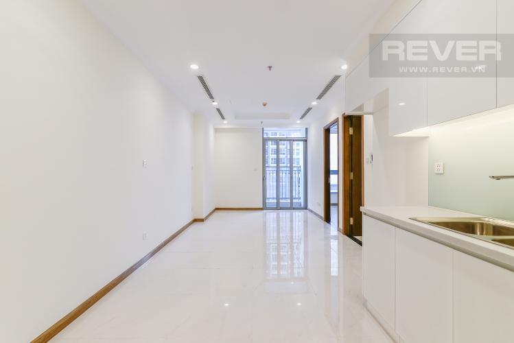 Phòng Khách Officetel Vinhomes Central Park 1 phòng ngủ tầng thấp Landmark 4