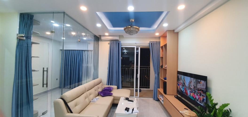 Phòng khách căn hộ Sunrise Riverside Bán căn hộ Sunrise Riverside nội thất đầy đủ, tiện nghi và hiện đại.