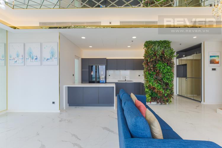 Phòng Bếp Cho thuê căn hộ Sarina Condominium 3PN, tầng thấp, đầy đủ nội thất, hướng Đông Nam đón gió