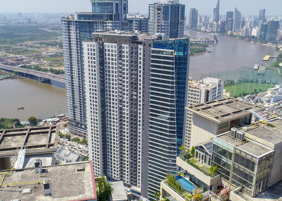 Opal Saigon Pearl, Bình Thạnh Căn hộ Opal Saigon Pearl nội thất đầy đủ, view thành phố.