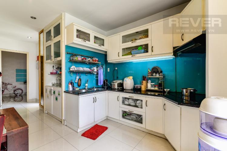 Nhà Bếp Căn hộ Chung Cư Khánh Hội 1 tầng thấp 2 phòng ngủ nội thất đầy đủ