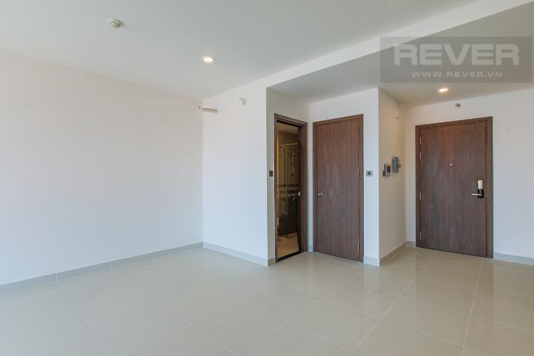Phòng Khách Cho thuê căn hộ Saigon Royal hướng Đông Bắc, 43m2 1PN 1WC, view thành phố