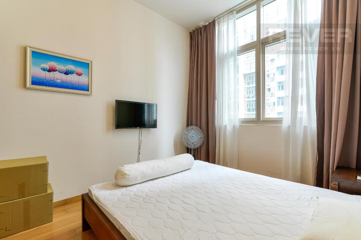 Phòng ngủ phụ Cho thuê căn hộ The Vista An Phú 2PN, diện tích 101m2, đầy đủ nội thất, view hồ bơi yên tĩnh