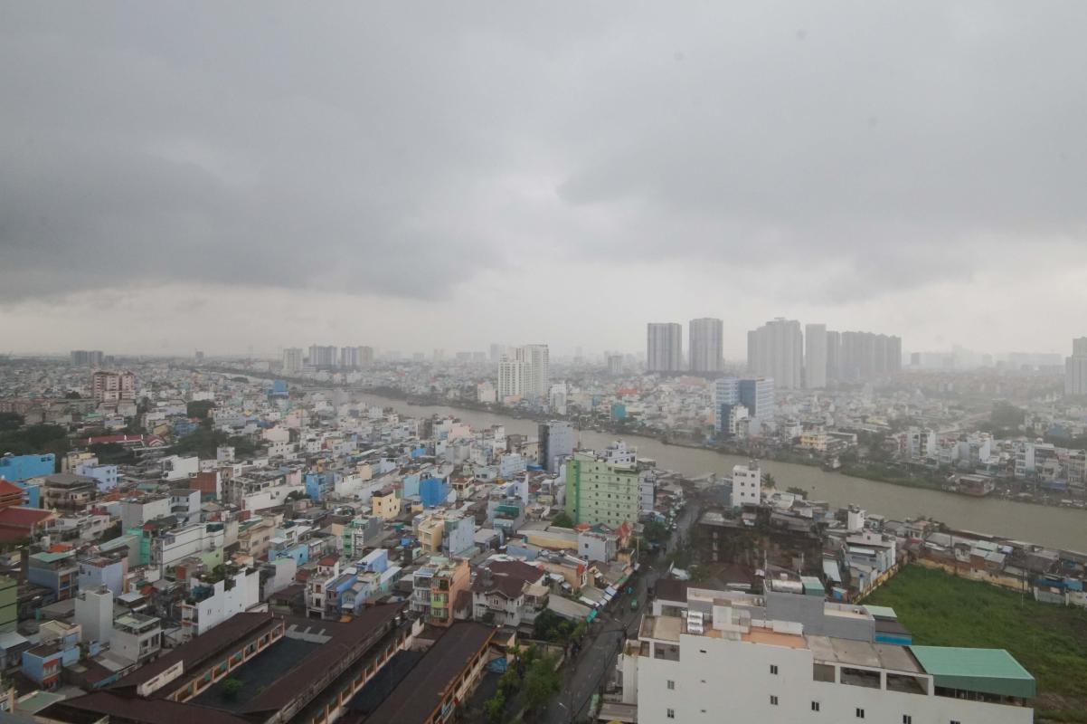 3 Cho thuê căn hộ 2 phòng ngủ Galaxy 9, tầng cao, đầy đủ nội thất, view thành phố thoáng rộng
