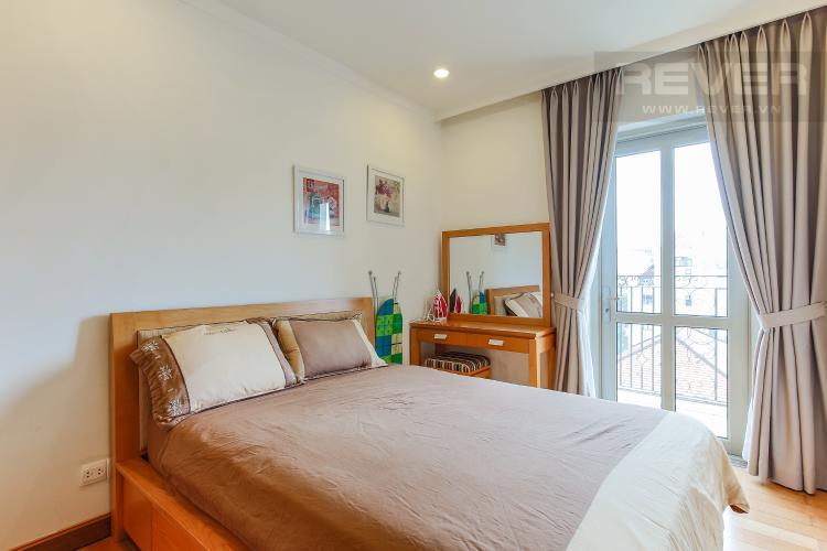 Phòng Ngủ 1 Căn hộ Saigon Pavillon 3 phòng ngủ tầng thấp đầy đủ nội thất