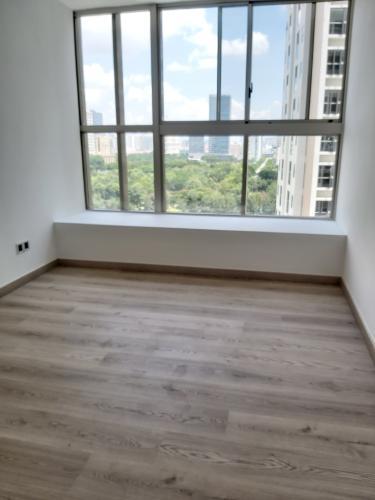 phòng ngủ căn hộ midtown Căn hộ Phú Mỹ Hưng Midtown ban công thông gió, view thành phố và sông.