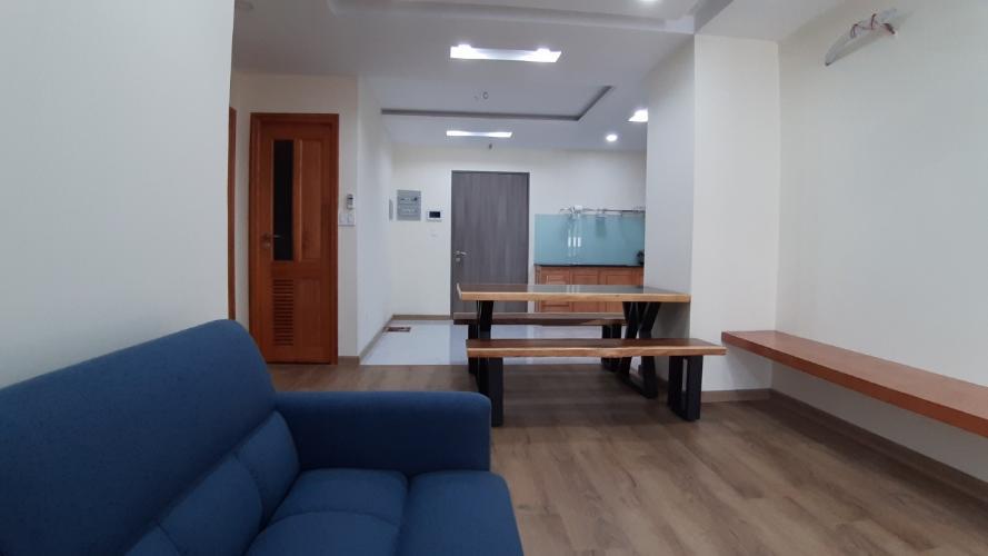 Phòng khách căn hộ Saigon South Residences Căn hộ Saigon South Residences tầng cao, đầy đủ nội thất