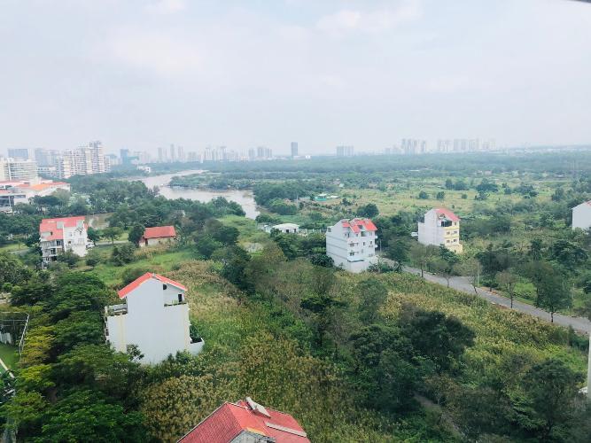 View Saigon South Residence Căn hộ Saigon South Residence tầng trung, đầy đủ nội thất, view sông.