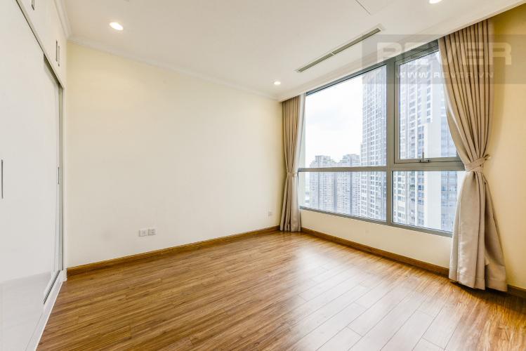 Phòng ngủ Căn hộ Vinhomes Central Park tầng cao 1PN nội thất cơ bản