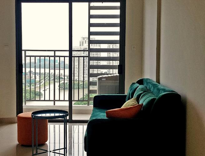 phòng khách căn hộ The Sun, Quận 2 Căn hộ The Sun Avenue tầng trung Block 7 view thoáng mát.