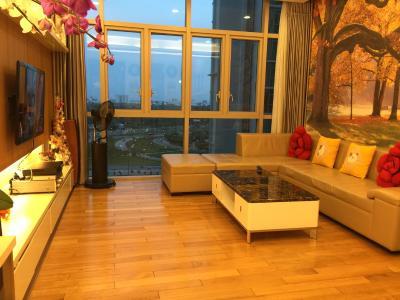Bán căn hộ The Vista An Phú 3PN, tháp T3, diện tích 142m2, đầy đủ nội thất, view hồ bơi