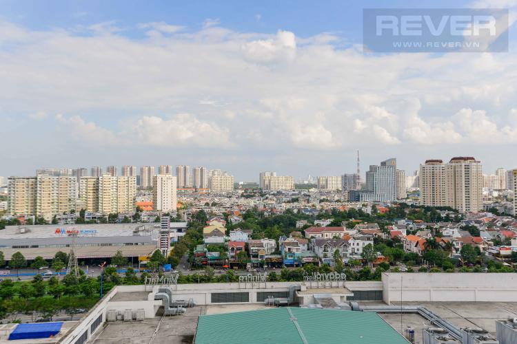 View Cho thuê căn hộ Masteri Thảo Điền 2PN, tầng trung, tháp T3, hướng Tây Nam vượng khí