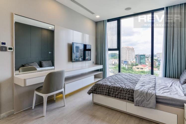 Phòng Ngủ 1 Căn hộ Vinhomes Golden River tầng thấp tòa Aqua4 tầng thấp 3 phòng ngủ view sông