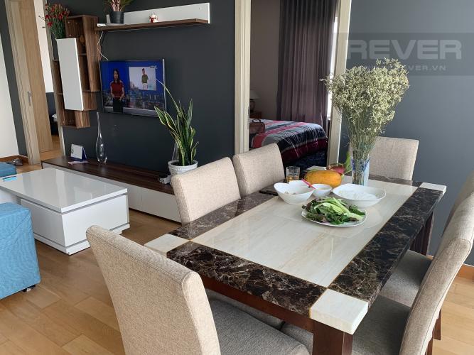 Phòng Ăn căn hộ Diamond Island - Đảo Kim Cương Cho thuê căn hộ Diamond Island - Đảo Kim Cương 2PN, tháp Brilliant, đầy đủ nội thất, view sông thoáng mát
