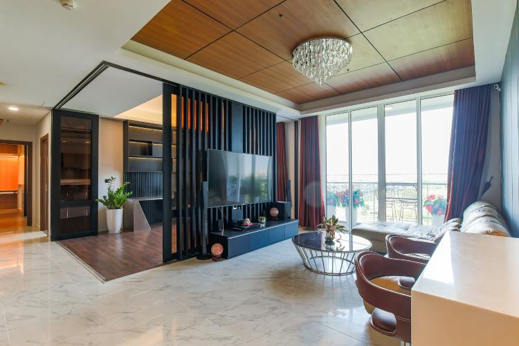 Cho thuê căn hộ Sarica Sala Đại Quang Minh 3PN, đầy đủ nội thất, view công viên mát mẻ