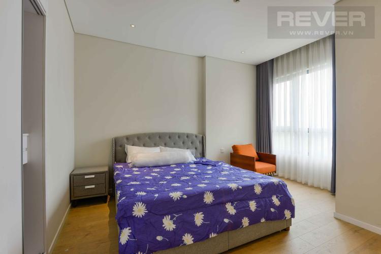 Phòng Ngủ Cho thuê căn hộ Diamond Island - Đảo Kim Cương 1PN, tầng thấp, đầy đủ nội thất, view trực diện sông