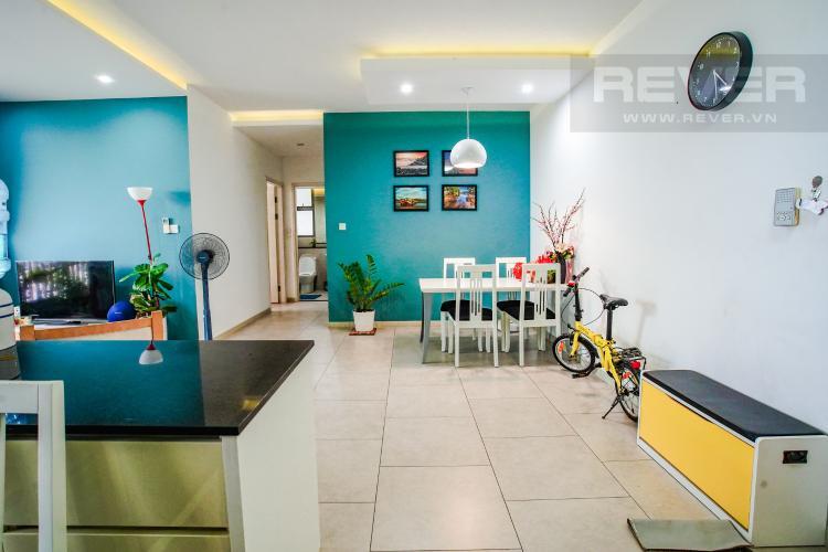 Phòng Ăn Cho thuê căn hộ Riviera Point 2PN, tầng trung, tháp T4, đầy đủ nội thất, view sông mát mẻ