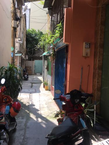 Hẻm nhà phố Minh Phụng, Quận 6 Nhà phố diện tích 41.2m2, sổ hồng riêng bàn giao ngay.