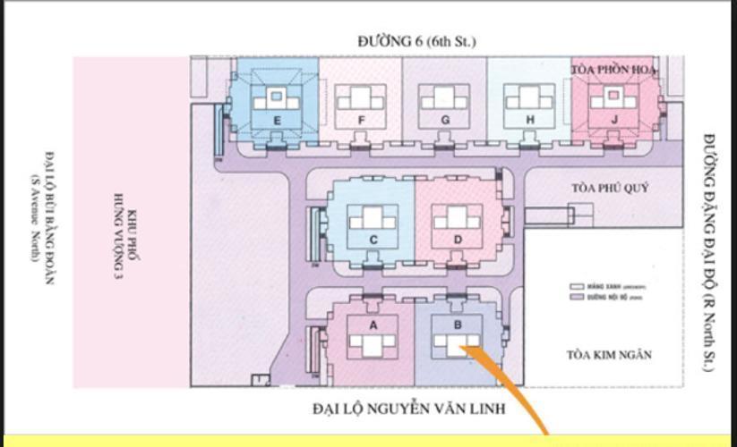 Mặt bằng dự án Căn hộ Hưng Vượng 1 tầng thấp, đầy đủ nội thất.